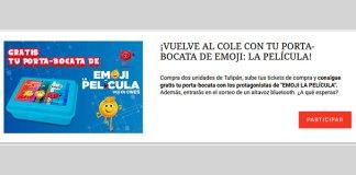 """Consigue gratis un porta-bocata de """"Emoji La Película"""""""