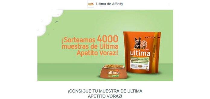 Sortean 4.000 muestras gratis de Ultima Apetito Voraz