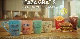 McDonald's regala divertidas tazas