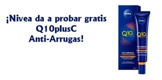 Nivea da a probar gratis Q10plusC Anti-Arrugas