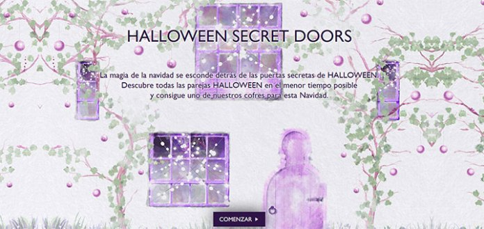 Consigue un cofre de Halloween Secret Doors