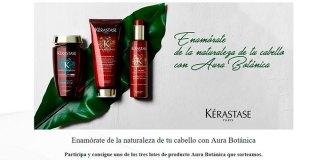 Kérastase sortea 3 lotes de su producto Aura Botánica