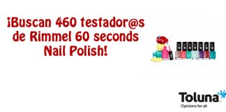 Prueba gratis Rimmel 60 seconds Nail Polish