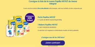 Sortean 500 lotes de Papillas Nestlé