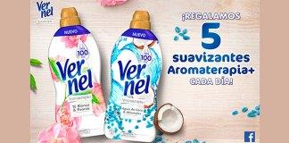 Vernel regala 5 suavizantes Aromaterapia + al día