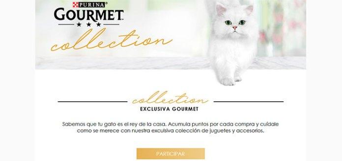 Consigue regalos exclusivos para gatos con Purina
