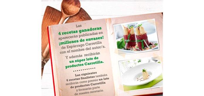 Crea una receta y consigue un lote de productos Carretilla