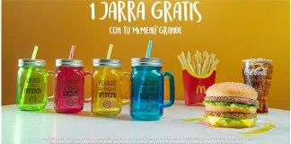 Llévate las jarras de McDonald's gratis