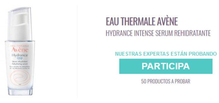 Prueba gratis Hydrance Intense Serum rehidratante de Avène