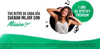Gana 1 año de Spotify Premium con Nestlé Fitness