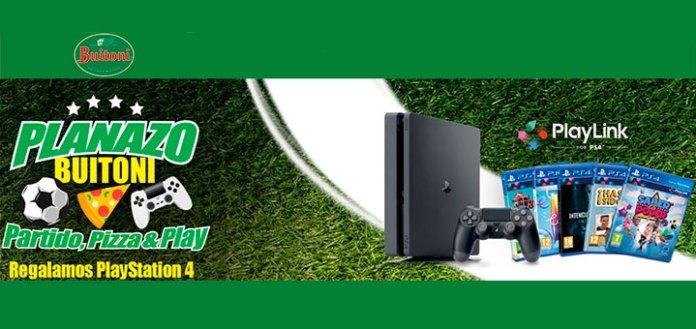 Gana una PlayStation 4 y un pack de juegos con Buitoni