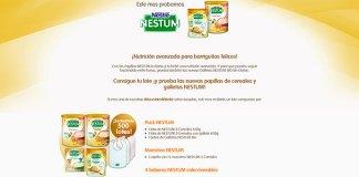 Prueba gratis las nuevas papillas Nestum