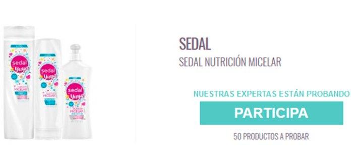 Prueba gratis Sedal Nutrición Micelar