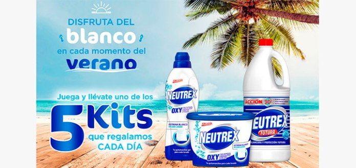 Regalan cada día 5 kits Neutrex