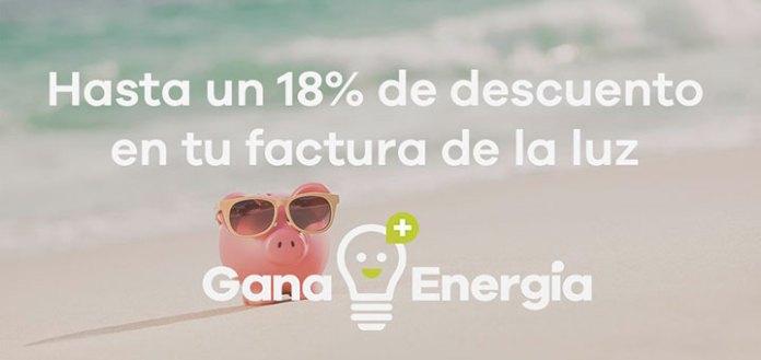 Ahorra en tu factura de la luz con GanaEnergía