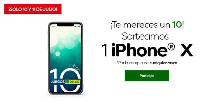 Este verano Juegos Once sortea 1 Iphone X