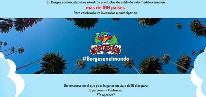Gana un viaje a California con Borges