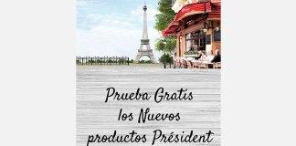Prueba gratis los nuevos productos Président
