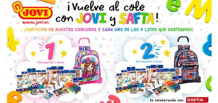 Jovi y Safta sortea 4 lotes de productos