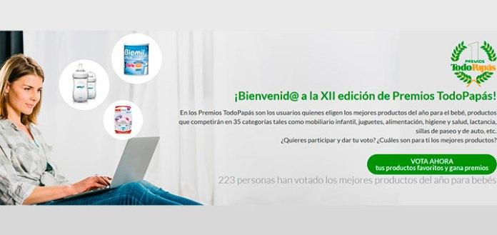 XII Edición de Premios TodoPapás