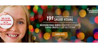19ª Campaña escolar a favor de la Salud Visual de Alain Afflelou