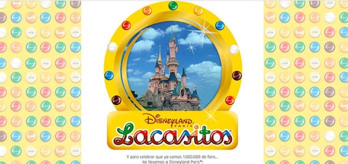 Lacasitos sortea 1 viaje a Disneyland París