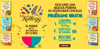Prueba gratis cereales W.K. Kellogg