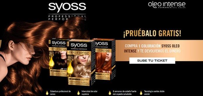 Prueba gratis la coloración para el cabello Syoss