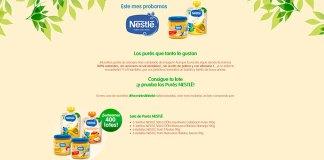 Prueba gratis Purés Nestlé