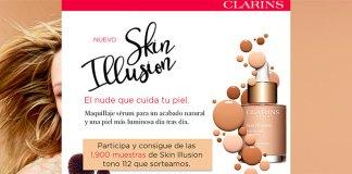 Clarins sortea 1.900 muestras de Skin Illusion