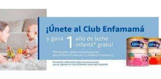 Gana 1 año de leche infantil gratis Enfamil