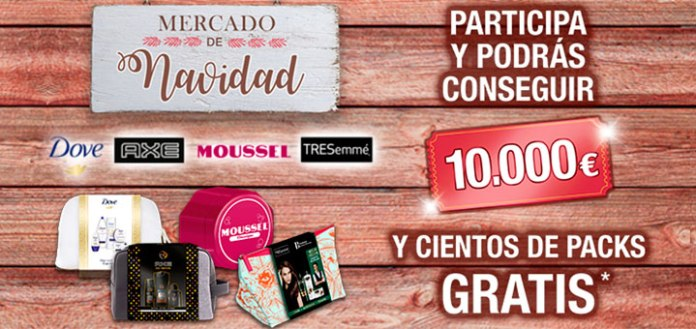 Gana 10.000€ y packs Unilever