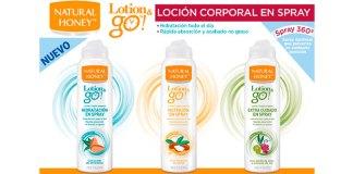 Prueba gratis Lotion & Go de Natural Honey