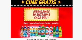 Regalan 30 entradas de cine al día