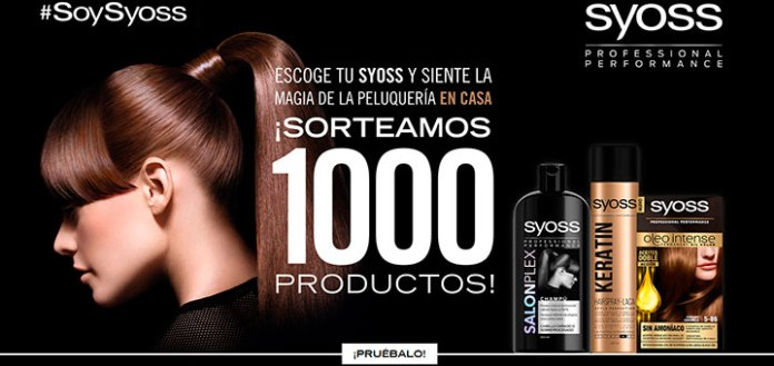 Sortean 1.000 productos Syoss