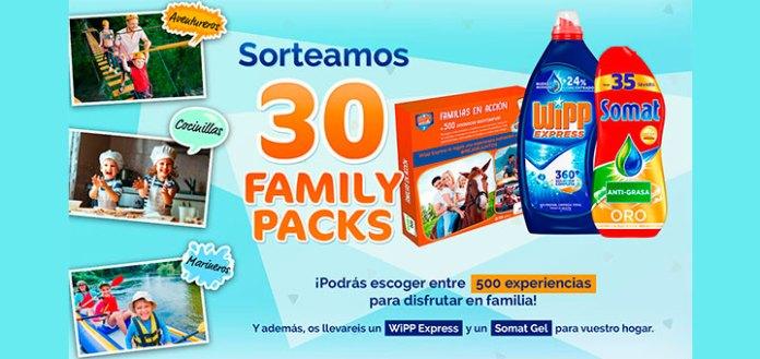 Sortean 30 Family packs