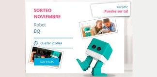 Central Lechera Asturiana sortea un Robot BQ