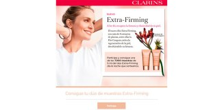 Muestras gratis del dúo Extra-Firming de Clarins