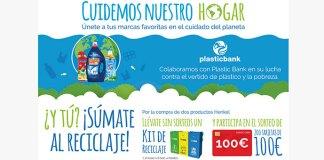 Llévate sin sorteos un Kit de Reciclaje con Henkel