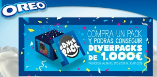 Gana un diverpack de 1.000€ con Oreo