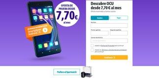 Regalo de bienvenida de un Smartphone con OCU