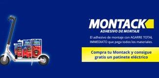 Consigue gratis un patinete eléctrico con Ceys Montack