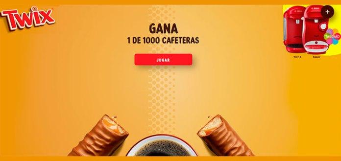 Gana 1 de las 1.000 cafeteras que sortea Twix