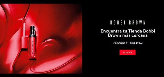 Llévate gratis lo último en barra de labios con Bobbi Brown