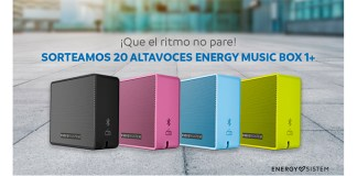 Mayoral sortea 20 altavoces Energy Music Box 1+