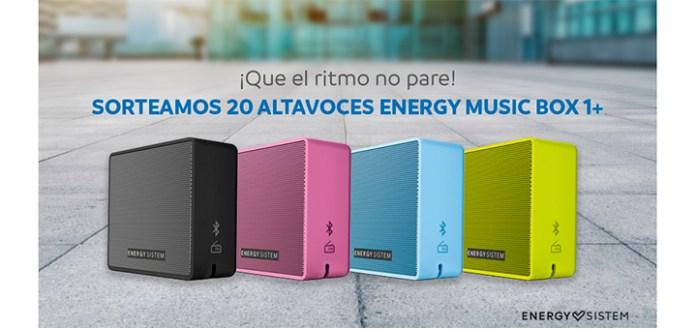 Mayoral sortea 20 altavoces Energy Music Box 1+