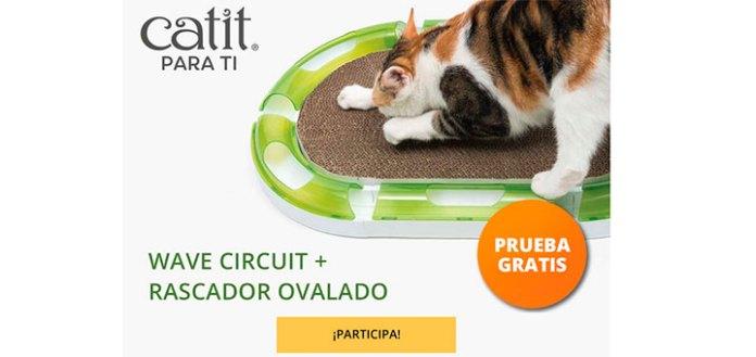 Prueba gratis rascador ovalado con Catit