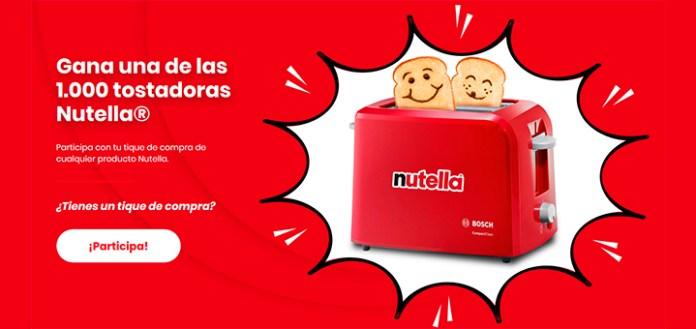 Regalan 1.000 tostadoras Nutella