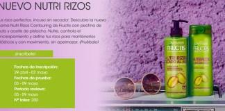 Dan a probar gratis el nuevo Nutri Rizos