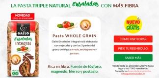 Prueba gratis Pasta Gallo Ensaladas Integral